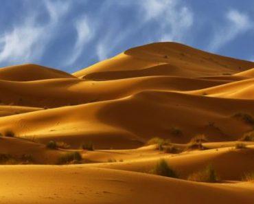Цікаві факти про пустелю Сахара