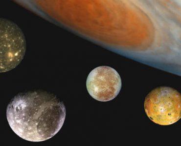 Цікаві факти про супутники Юпітера
