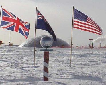 Цікаві факти про Південний полюс
