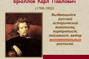 65 цікавих фактів про Карла Брюллова