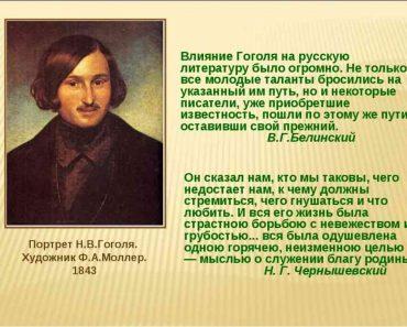 50 цікавих фактів про Миколу Гоголя